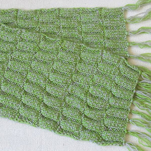 двусторонний узор спицами для шарфа описание Elenadomosedru