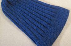 Как рассчитать петли для вязания шапки спицами