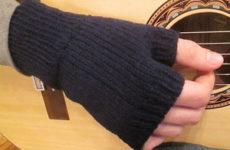 Мужские варежки, перчатки и их производные (спицами)