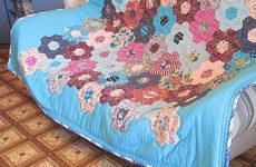 Лоскутное одеяло «Бабушкин сад»